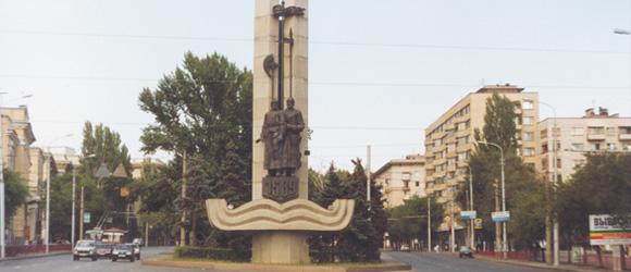 Памятник к 410летию