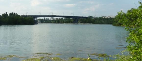 Мост в Красноармейском районе