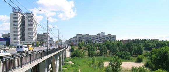 Мост из Ворошиловского