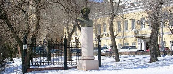 Памятник был открыт 6 сентября 2003 года ко дню города Волгограда
