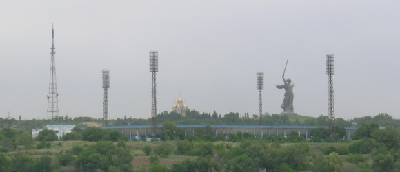 Центральный стадион в Волгограде построен в 1964 году, используется для проведения домашних матчей футбольного клуба Ротор
