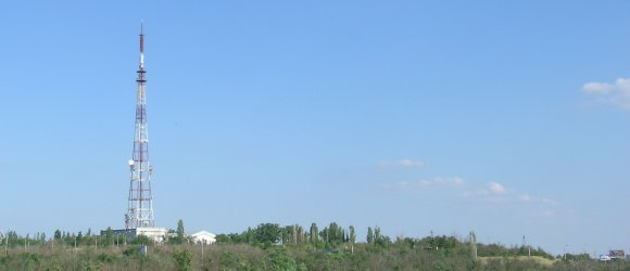 Телебашня и здание телецентра на Мамаевом кургане