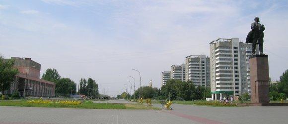 Площадь им. В.И.Ленина. г. Волжский