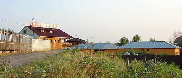 """Мотель """"Надежда"""" на въезде в Волгоград по московской трассе. М6."""