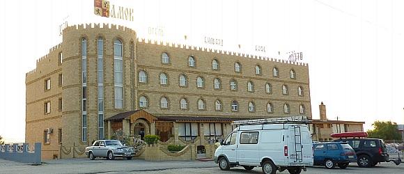 Гостиничный комплекс «Замок» располагается в Дзержинском районе города Волгограда, на въезде в город по Московской трассе.