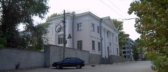Дом Культуры трамвай троллейбусного управления Волгограда