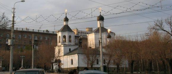 Первая каменная церковь города Царицына и сегодняшнего Волгограда