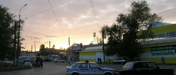 """Тракторозаводской район г.Волгограда. Вещевой рынок """"Виктория"""""""