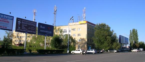 """Гостиница """"Аэропорт"""" располагается напротив главного здания аэропорта Волгограда"""