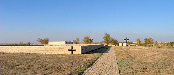 Старое немецкое воинское кладбище в Россошки
