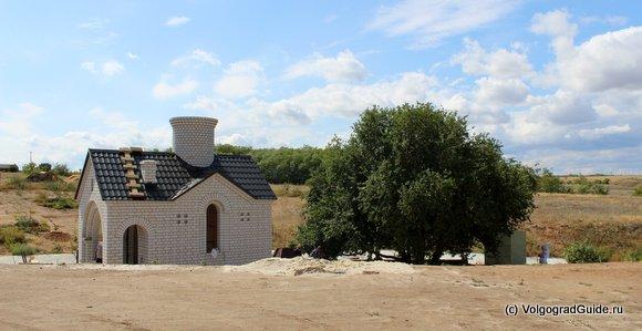 Источник  вблизи с Дубовским Свято-Вознесенский женским монастырем.