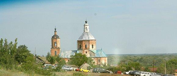 Церковь Знамения. Основана в 1785 году.