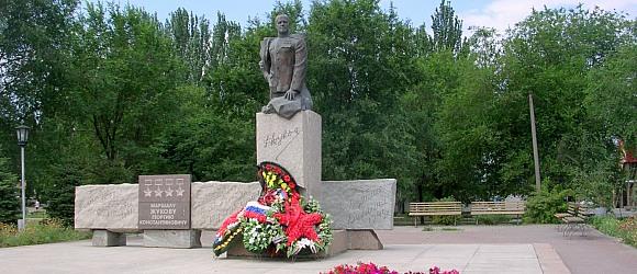 Памятник Маршалу Жукову Георгию Константиновичу в Дзержинском районе г.Волгограда