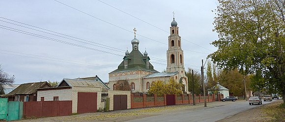Свято-Никольский православный храм Калач-на-Дону