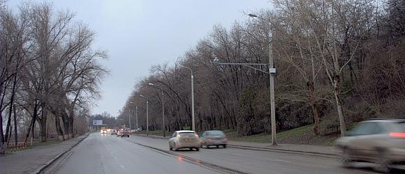 Центральный район Волгоград  дорога вдоль Волги. Набережная 62-й Армии.