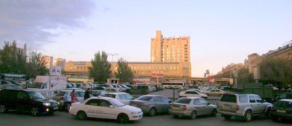 Дом Печати - комплекс зданий с офисами и печатные цехами. Центральный район г.Волгограда