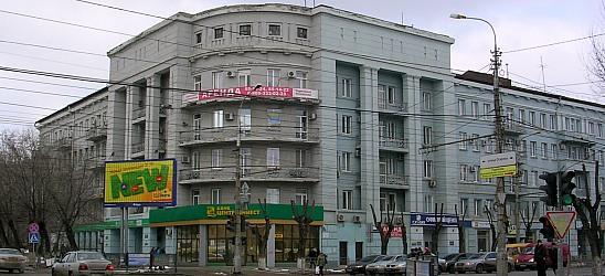 Памятник архитектуры и градостроительства как: Дом грузчиков. Волгоград.