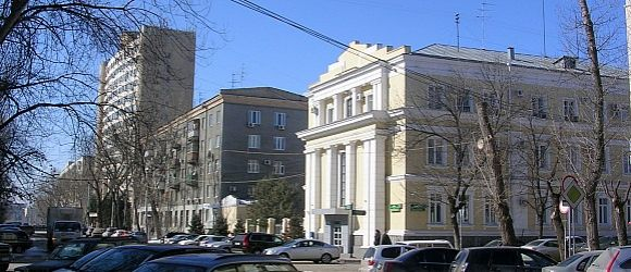 Здание Администрации города Волгограда.