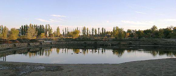 Качинский пруд. Дзержинский район г.Волгограда