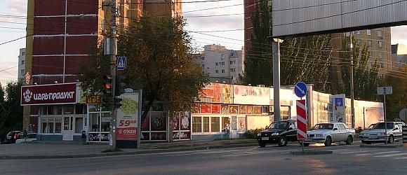 Универсальный рынок на улице Двинской. Центральный район г.Волгограда