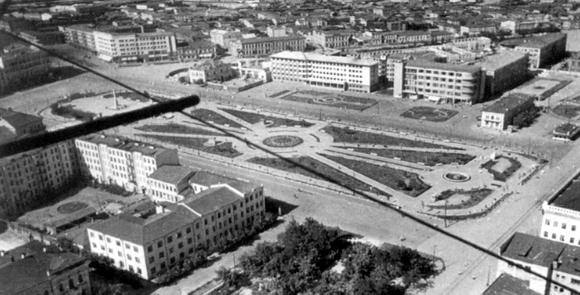 Площадь Павших Борцов, Сталинград, 1931 г.