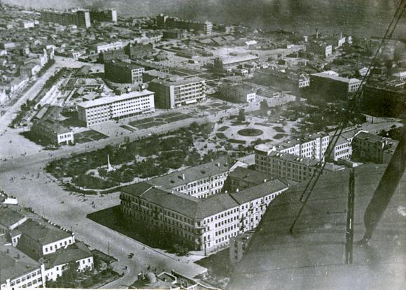 Площадь Павших Борцов, Сталинград, 1930-е гг.