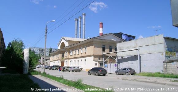 Банный комплекс на ул. Богунской. Краснооктябрьский район г.Волгограда
