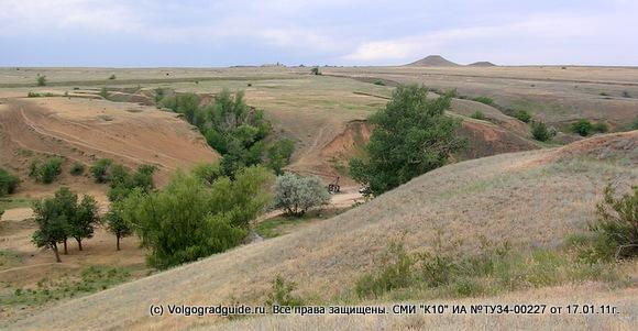 Родник на склоне балки Черемуховая, рядом с трассой P228-Сызрань-Саратов-Волгоград