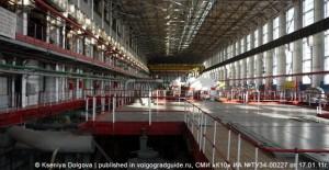Волгоградская ТЭЦ-2. Турбинный цех