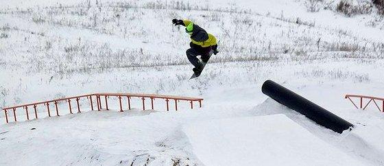 Хоперский снег трасса