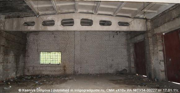 Бывшая база волгоградского ОМОНа, транспортный корпус