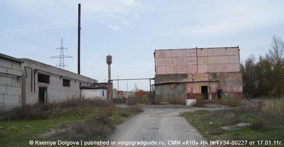 Бывшая база волгоградского ОМОНа, столовый корпус