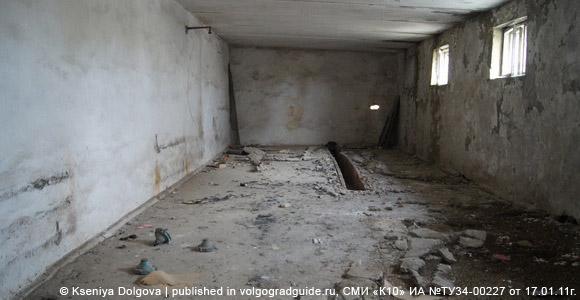 Бывшая база волгоградского ОМОНа, хозяйственный корпус