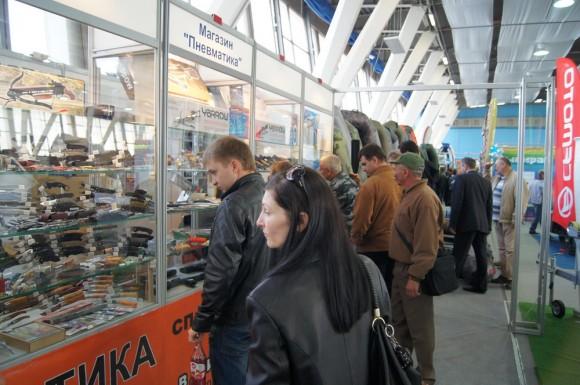 Экспозиция на выставке в Волгограде