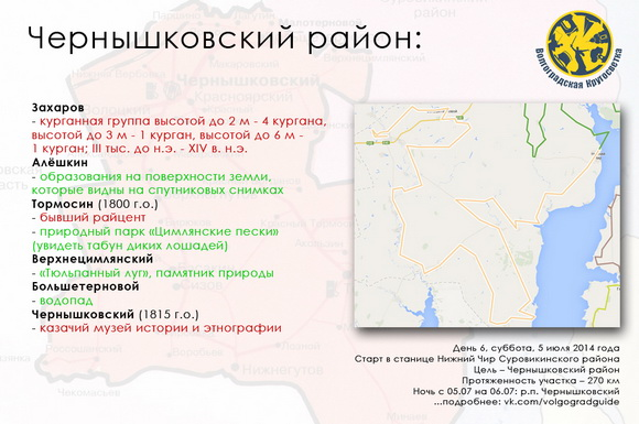 Волгоградская Кругосветка - Чернышковский район