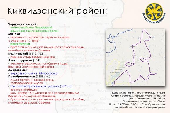 Волгоградская Кругосветка - Киквидзенский район