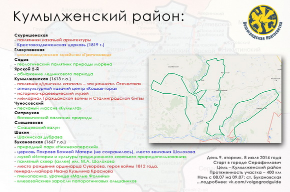 Волгоградская Кругосветка - Кумылженский район