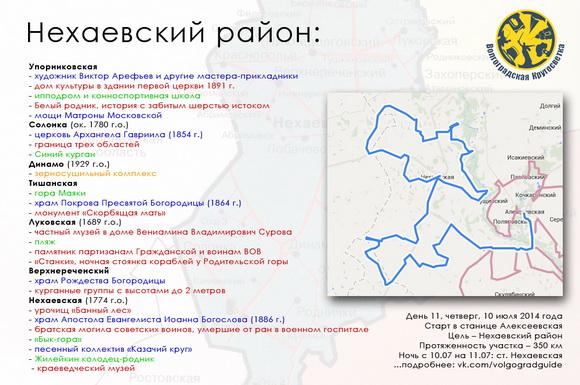 Волгоградская Кругосветка - Нехаевский район