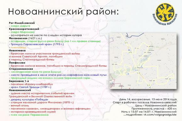 Волгоградская Кругосветка - Новоаннинский район