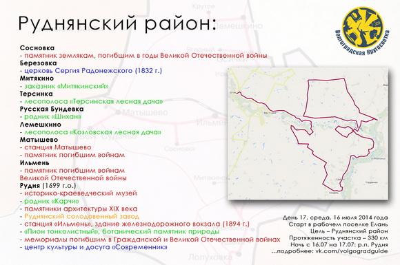 Волгоградская Кругосветка - Руднянский район