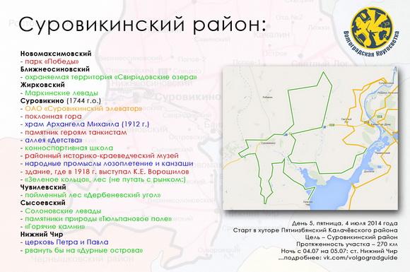 Волгоградская Кругосветка - Суровикинский район