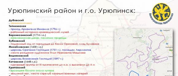29 марта 2014, сб, 10:20  День #12, пятница, 11 июля 2014 года. Старт в станице Нехаевская. Цель – Урюпинский район. Выбранные нами объекты для посещения смотрим на карточке района...