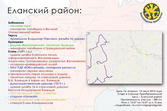 Волгоградская Кругосветка - Еланский район