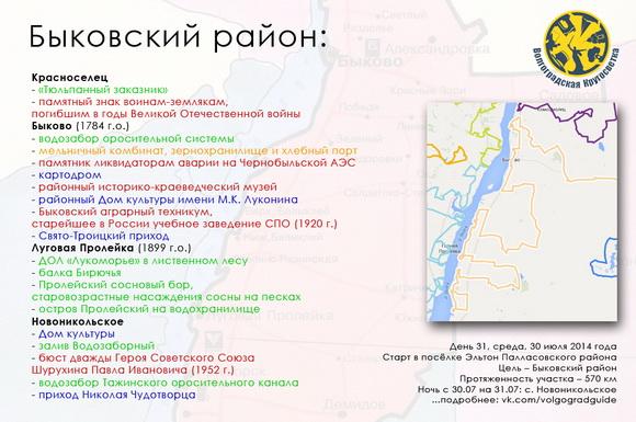 Волгоградская Кругосветка - Быковский район