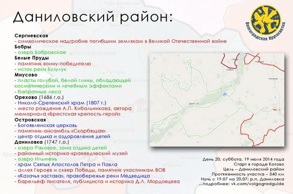 Волгоградская Кругосветка - Даниловский район
