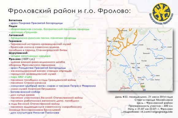 Волгоградская Кругосветка - Фроловский район