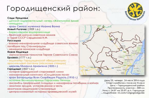 Волгоградская Кругосветка - Городищенский район