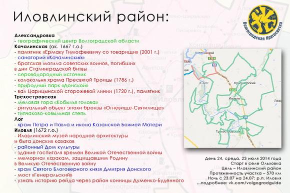 Волгоградская Кругосветка - Иловлинский район