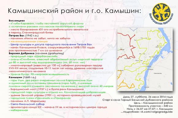 Волгоградская Кругосветка - Камышинский район