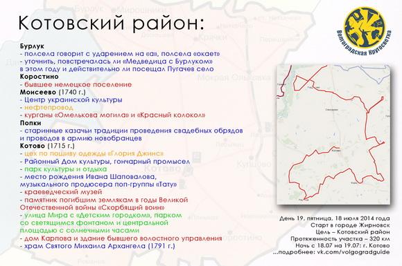 Волгоградская Кругосветка - Котовский район